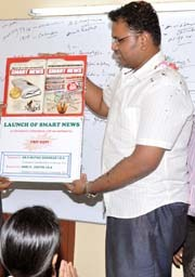 Smart News Launch - Mr.Muthusankar