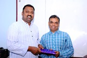 Shri.BASKARAN PRO with Director Mr.Sadik