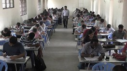 Mr.Sivarajavel Visits Mock Test Exam Hall